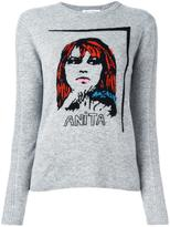 Bella Freud 'anita' pattern sweater