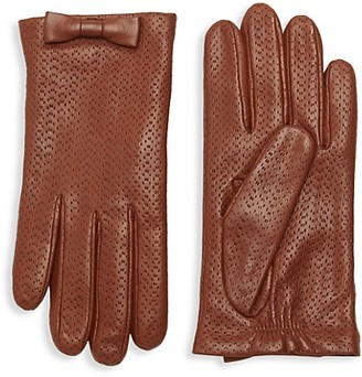 Portolano Perforated Leather Gloves