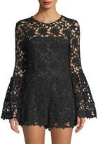 Camilla And Marc Women's Mona Floral Lace Romper