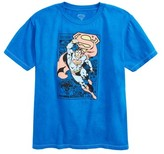 JEM Boy's Superman Graphic T-Shirt