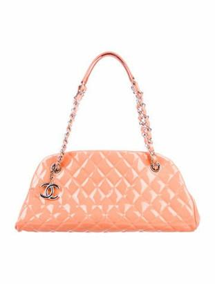 Chanel Small Just Mademoiselle Bowler Bag Orange