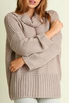Umgee USA Chunky Knit Turtleneck