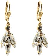 La Vie Crystal Leaf Earrings