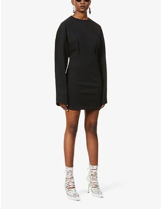 Fenty by Rihanna Oversized corset cotton-jersey dress
