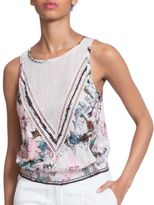Plenty by Tracy Reese Floral-Printed Sleeveless Top