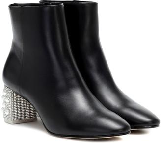 Sophia Webster Toni embellished leather ankle boot