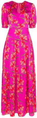 Borgo de Nor Alma floral print maxi dress