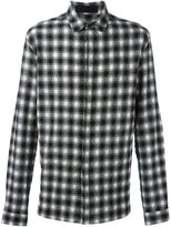 Haider Ackermann checked shirt