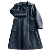 Prada Anthracite Wool Coat