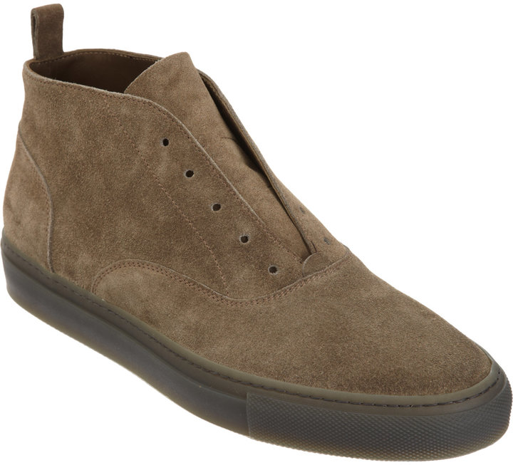 Sartore Laceless Mid Top Sneaker