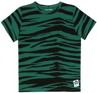 Mini Rodini Tiger-print T-shirt