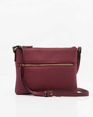 Le Château Faux Leather Crossbody Bag