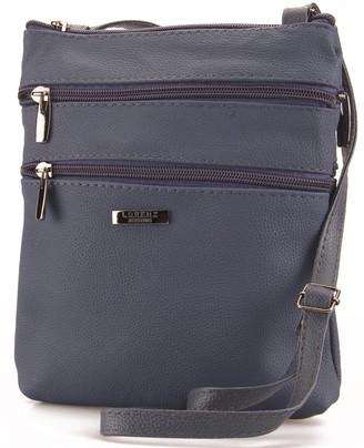 Lorenz Leather Handbag(3) # 3738 - Navy