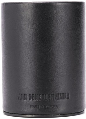 Ann Demeulemeester Logo Embossed Pencil Cup