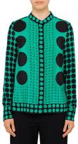 Diane von Furstenberg L/S Cuffed Button Down Shirt