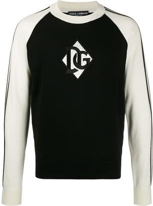 Dolce & Gabbana Logo Patch Jumper