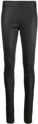 Drome Slim Leather Trousers