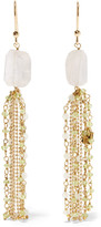 Rosantica Etrusca Gold-tone Quartz Earrings - one size