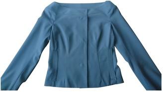 Loewe Blue Wool Jacket for Women Vintage