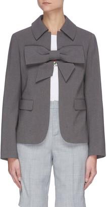 SHUSHU/TONG Bow detail jacket