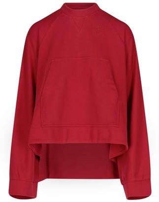 Loewe Anagram Embroidered Oversize Sweatshirt