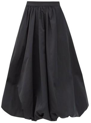 Simone Rocha Sash-waist Taffeta Bubble-hem Skirt - Black