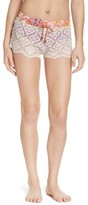 Maaji Women's Bombon Apricot Cover-Up Shorts