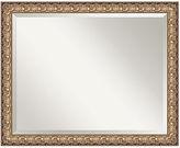 Amanti Art Florentine Gold Wall Mirror, Extra Large 31x25