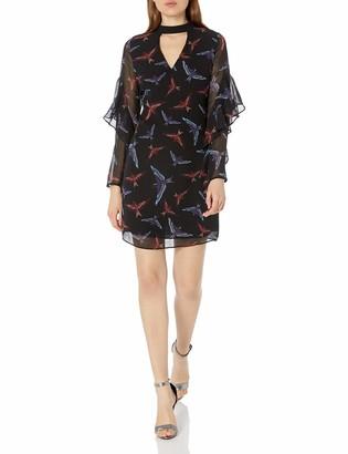 Sam Edelman Women's Print Choker Dress