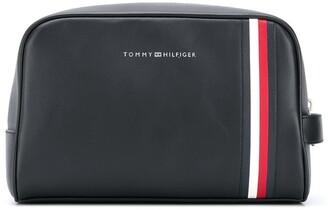 Tommy Hilfiger Logo Print Travel Bag