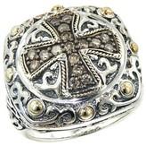 Effy Jewelry Effy 925 Cognac Diamond Ring, .46 TCW