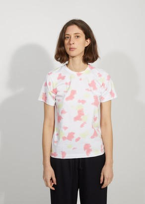 Comme des Garcons Garment Treated Cotton Printed T-Shirt