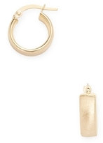 Candela 14K Yellow Gold Huggie Earrings