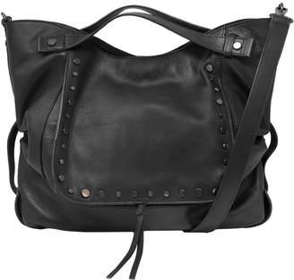 Kooba Jagger Convertible Leather Satchel