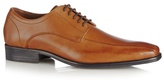 Jeff Banks Designer Tan Leather 'airsoft' Lace Up Shoes
