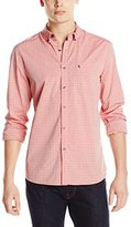 Kenneth Cole New York Kenneth Cole Men's Long Sleeve Check Slim Shirt
