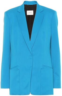 Schumacher Dorothee Cool Ambition stretch wool blazer