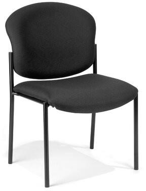 Latitude Run Oleanna Guest Chair Seat Color: Charcoal Vinyl