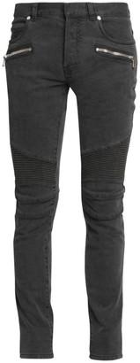 Balmain Ribbed Skinny Jeans