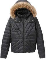 Joe Fresh Women's Quilted Jacket, Dark Blue (Size L)