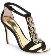 Ted Baker Women's 'Zlamin' Crystal-Embellished T-Strap Sandal