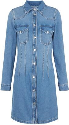 New Look Denim Bodycon Shirt Dress