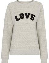Whistles Love Logo Sweatshirt