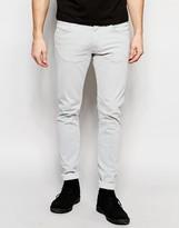 Wrangler Bryson Skinny Jeans In Grey Haze