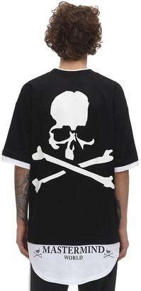 Mastermind Japan Layered Effect Cotton Jersey T-Shirt