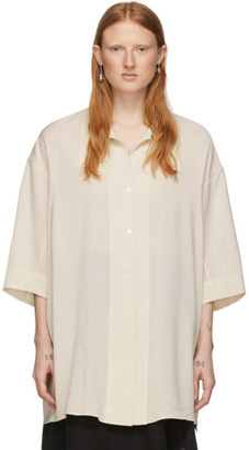 Lemaire Off-White Maxi Shirt