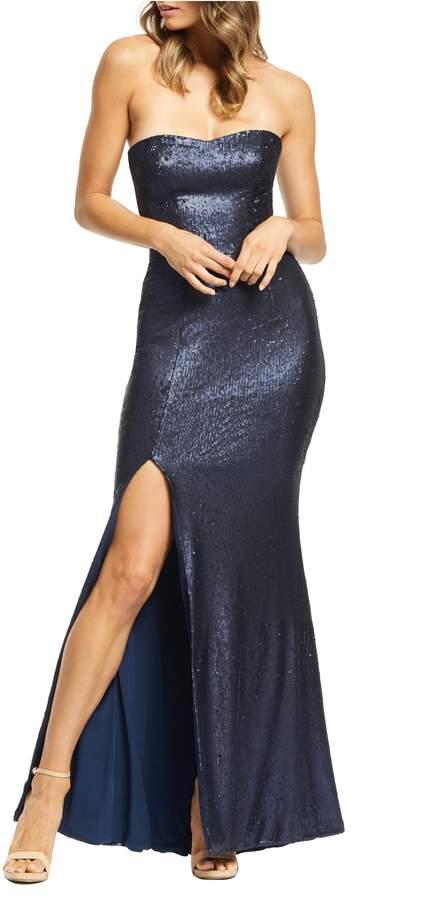 77f0ebbf5581 Dress the Population Blue Dresses - ShopStyle