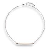 Dakota Hissia Bone Silver Necklace