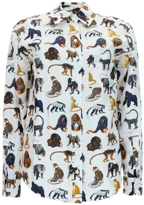 Burberry Animal Print Shirt