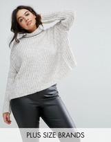 Elvi Funnel Neck Jumper